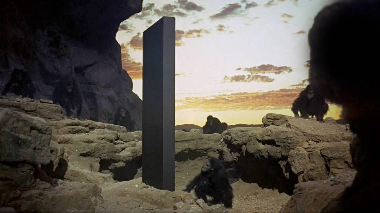 Foto: Jugando a ser dioses con máquinas en vez de homínidos (2001: una odisea en el espacio)