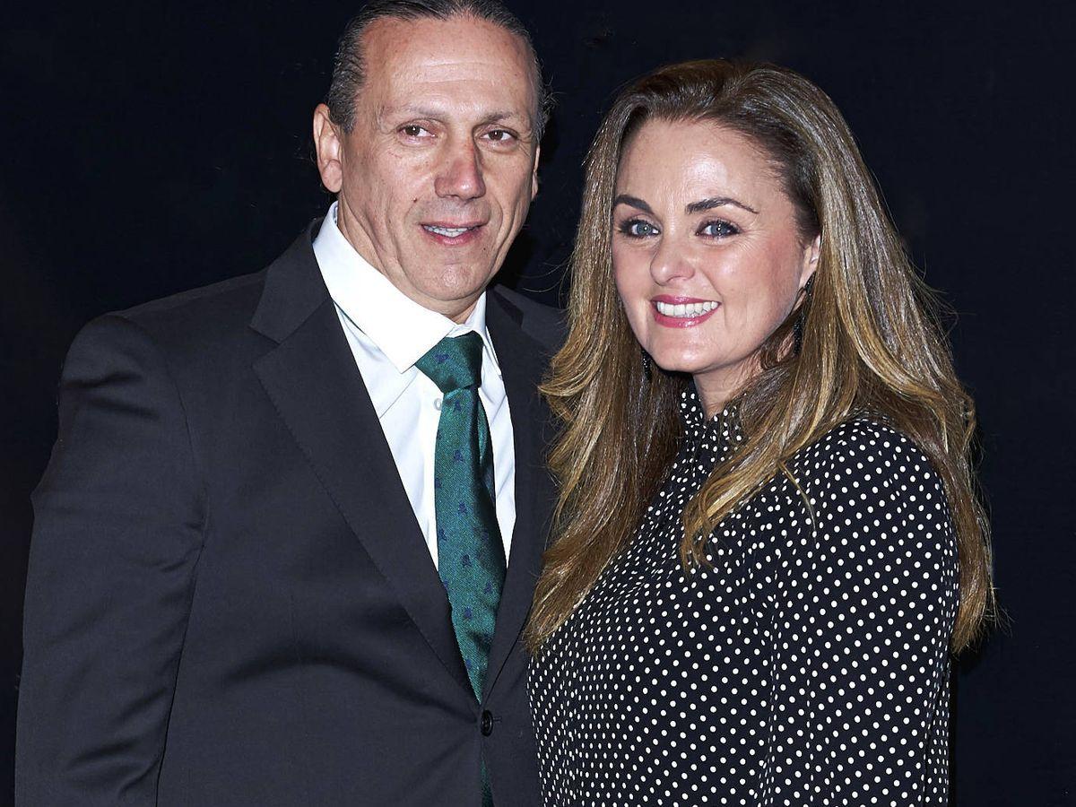 Foto: Carmen Morales y Luis Guerra, en una imagen de archivo. (Getty)