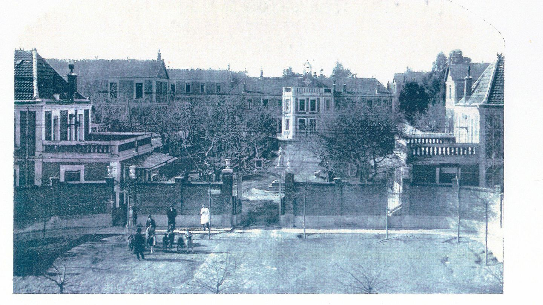 Fotografía del antiguo Hospital San Juan de Dios. (Museo Olavide)