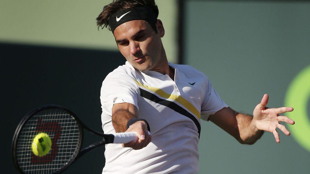 Foto: Roger Federer, vestido de Nike. (ReuterS)