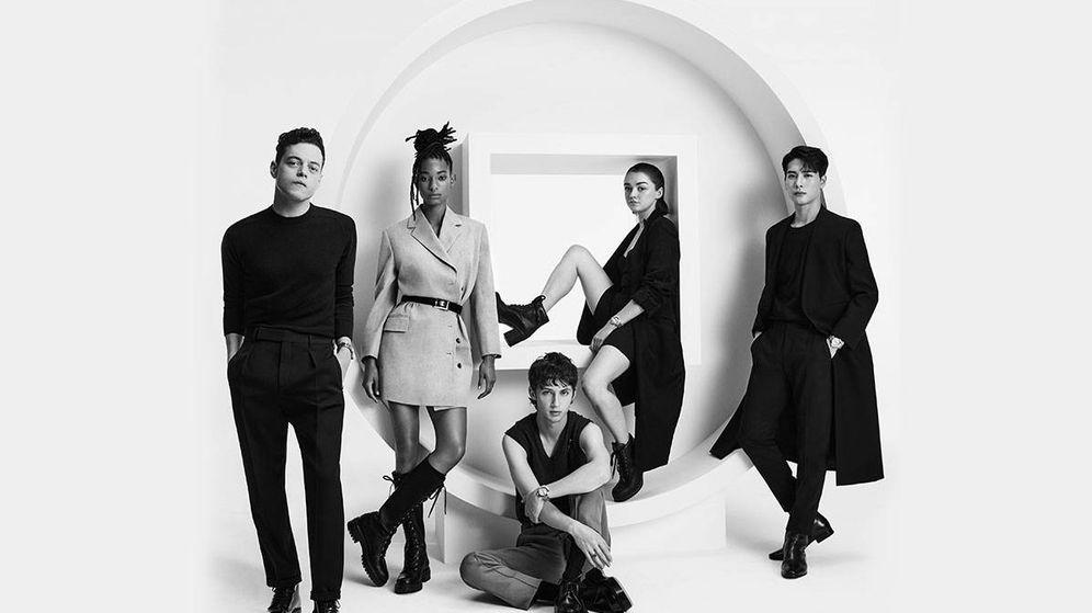 Foto:  Rami Malek, Willow Smith, Troye Sivan, Maisie Williams y Jackson Wang. (Cartier)