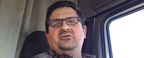 """Foto: Un camionero en Youtube: """"PP y PSOE, me tenéis hasta los huevos"""""""