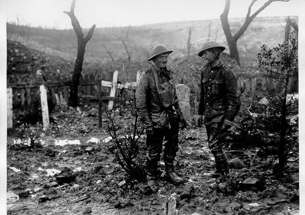 Foto: Imagen de archivo de la I Guerra Mundial