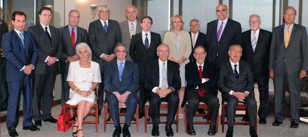 Foto: El patronato de la nueva Fundación Bancaria La Caixa