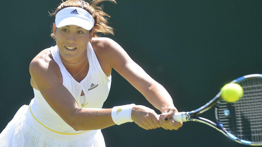 Garbiñe Muguruza cumple en Wimbledon y ya está en segunda ronda