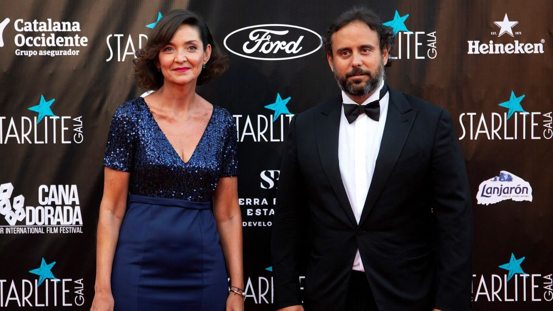 Reyes Maroto y el empresario Ignacio Maluquer. (EFE)