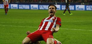Post de Saúl se acostumbra a ser el héroe inesperado del Atletico