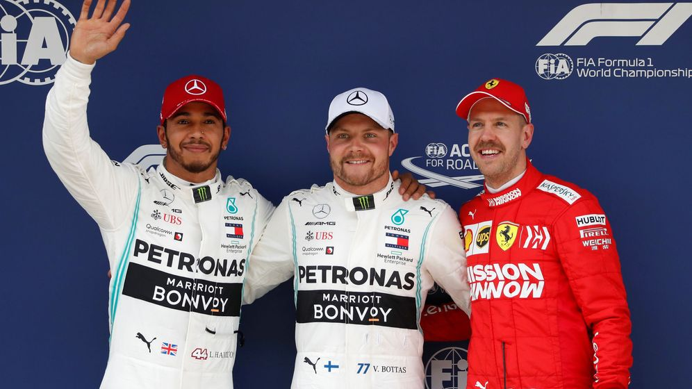 Foto: Valtteri Bottas se llevó la pole en China. (Reuters)
