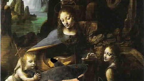 El secreto escondido debajo de una pintura de Leonardo da Vinci