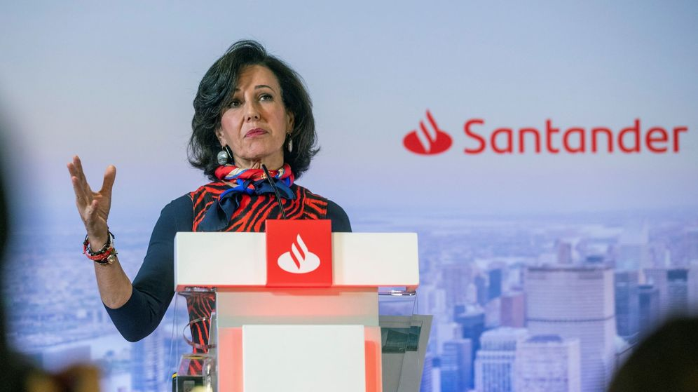Foto: Ana Botín, presidenta de Santander. (EFE)