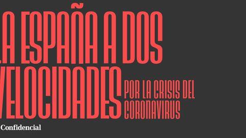 La España a dos velocidades por el colapso económico