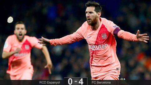 No digan a Messi que hay otros mejores, se empeñará en demostrarles lo contrario