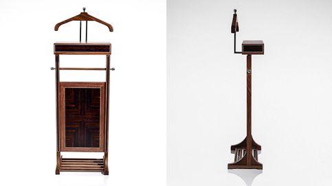 Valet Stand: artesanía y practicidad en un mueble único
