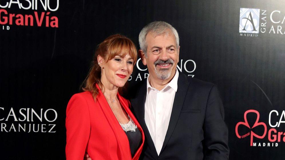 Foto: Carlos Sobera y Patricia Santamarina. (EFE)