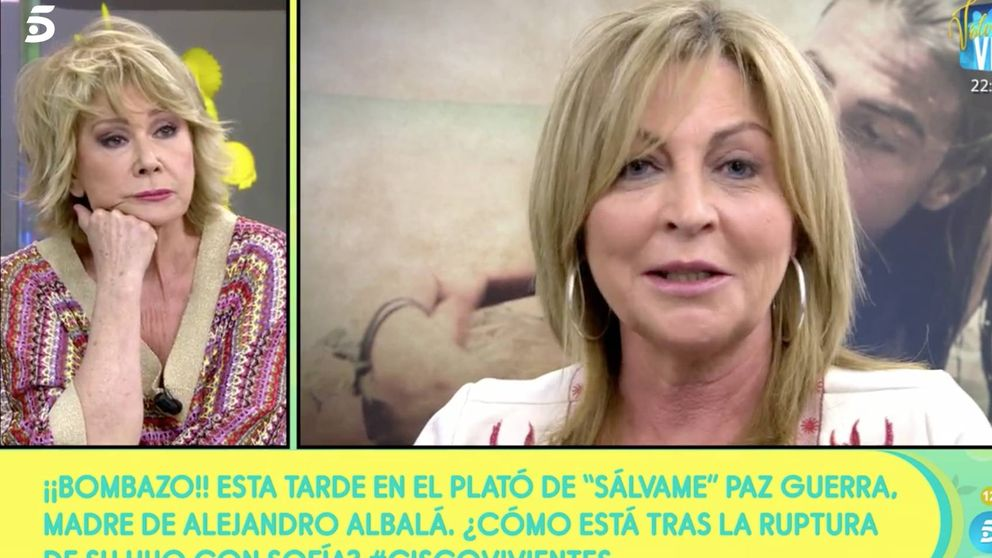 La madre de Alejandro Albalá prefiere a Sofía Suescun que a Isa Pantoja