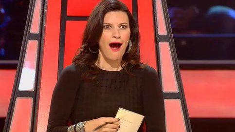 'La Voz' - El primer beso entre la hija de Pausini y el hijo de Alejandro