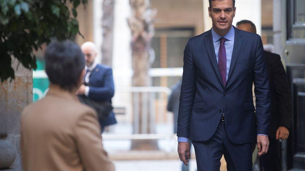 Foto: Pedro Sánchez, en Barcelona. (EFE)