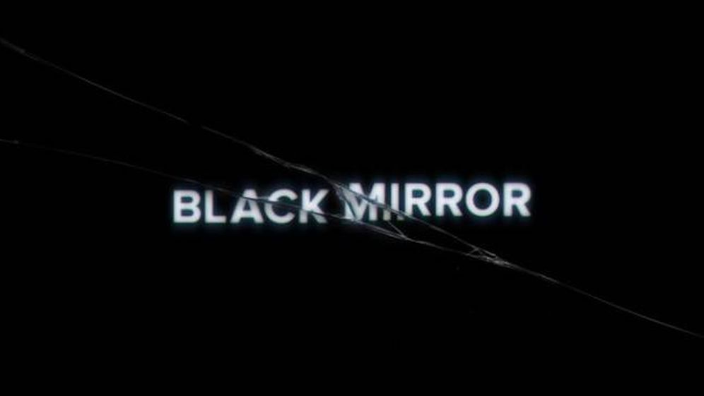 Foto: Logotipo de la serie 'Black Mirror' de Netflix