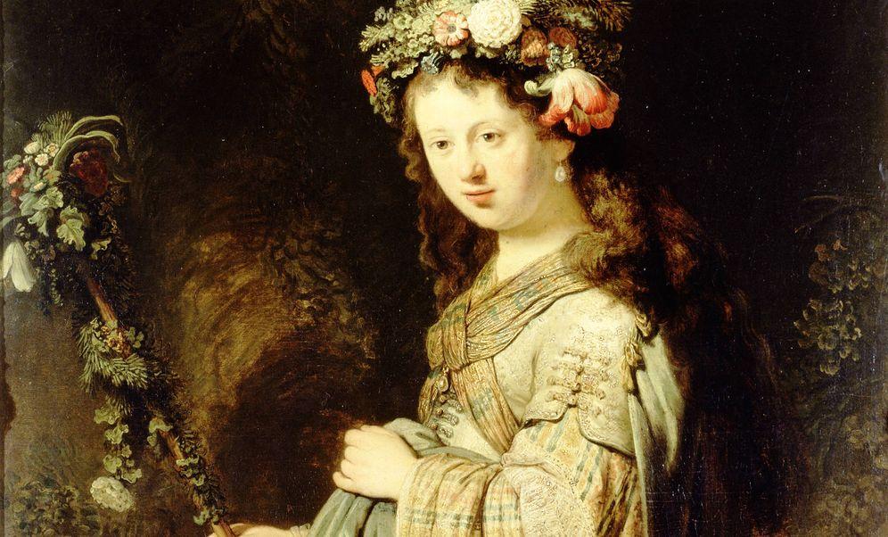 Foto: Rembrandt - 'Flora'