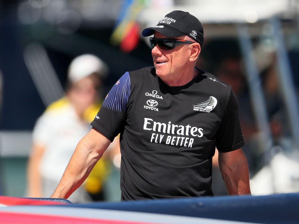 Foto: El CEO de Team New Zealand, Grant Dalton. (Reuters)