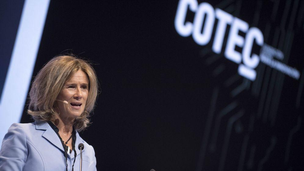 Foto: La presidenta de la Fundación Cotec, Cristina Garmendia. (EFE)