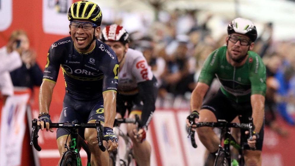 Foto: La felicidad de ganarle a los mejores (Matteo Bazzi/EFE/EPA).