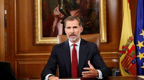 El Rey: Los legítimos poderes del Estado van a asegurar el orden Constitucional