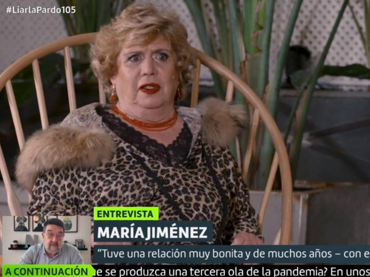 Foto: María Jiménez, en 'Liarla Pardo'. (La Sexta).