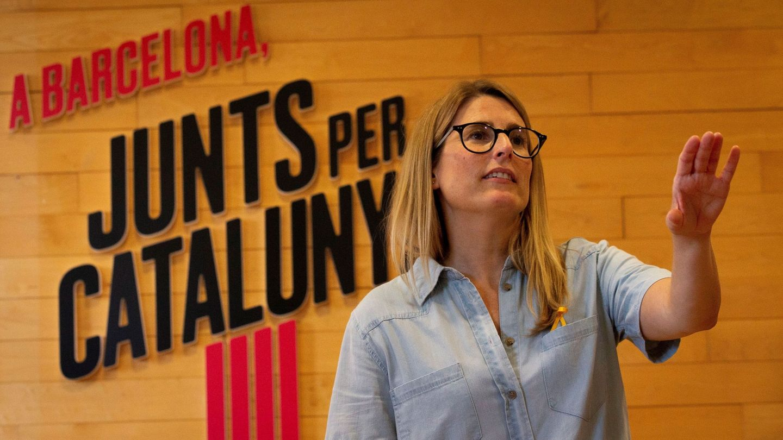 La diputada de JXCat en el Parlament Elsa Artadi y vicepresidenta de la formación que lidera el expresident Carles Puigdemont. (EFE)