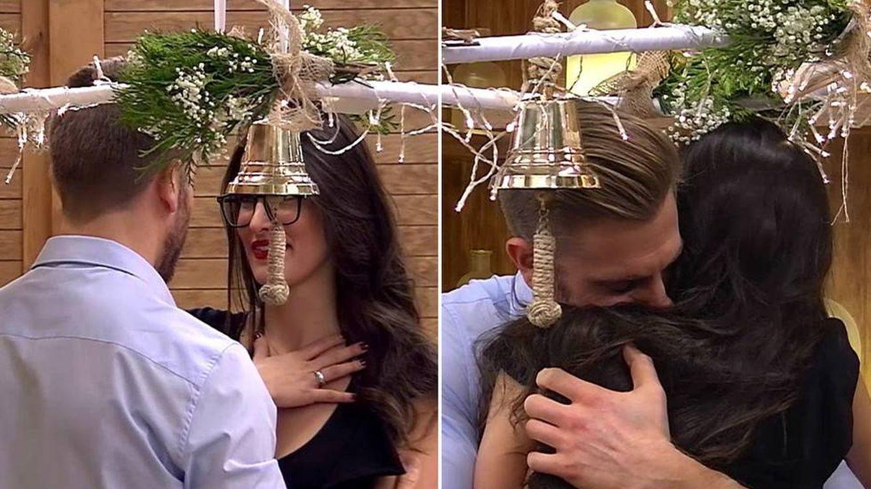 Matías y Lidia, lágrimas de amor en 'First Dates' en el Día de los Enamorados