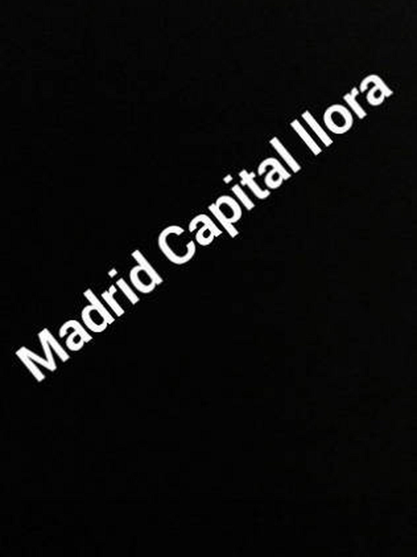 Publicación de Carla Vigo. (Instagram: @reinadelentejuelas)