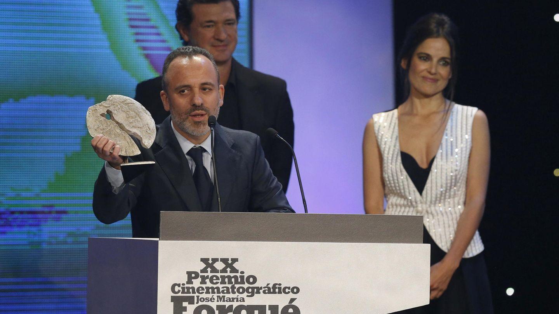 El actor Javier Gutiérrez ganador del Premio Forqué a mejor actor (Efe)