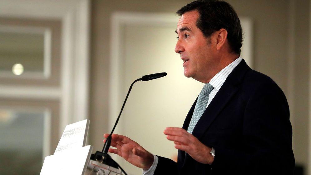 Foto: Antonio Garamendi, presidente de la CEOE (Efe)