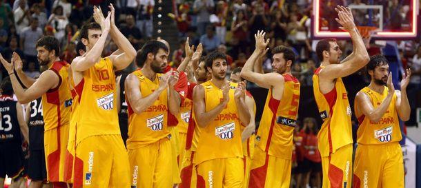 Foto: España superó a Alemania con mucha facilidad