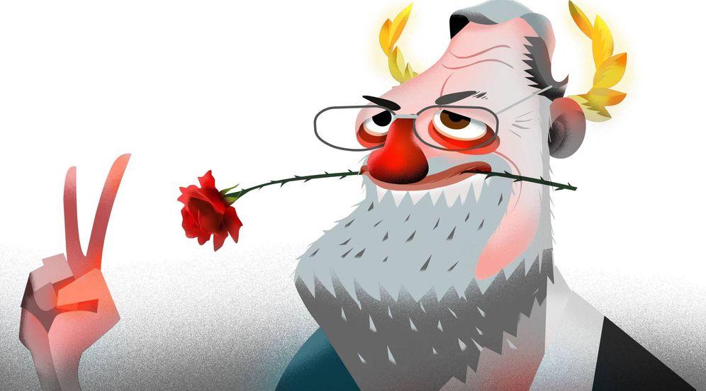 Foto: Ilustración de Mariano Rajoy. (Raúl Arias)