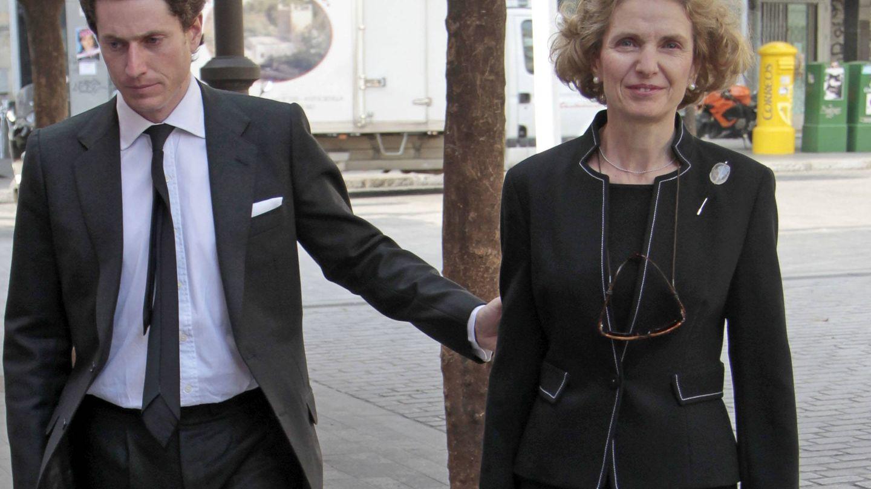 José con su madre, Pilar Medina Sidonia.(Gtres)