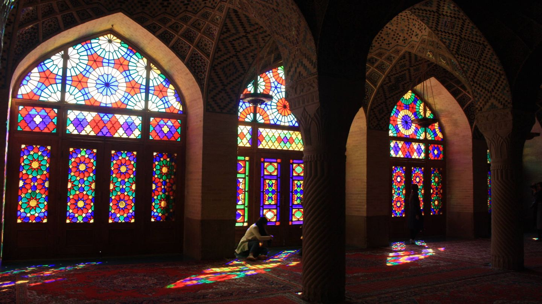 Mezquita Nasirolmolk (Shiraz).