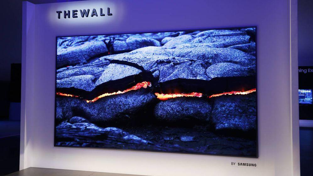 Foto: 'The Wall', 146 pulgadas de televisión.