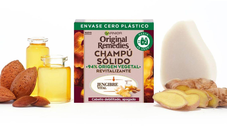 Champú Original Remedies Revitalizante de Garnier.