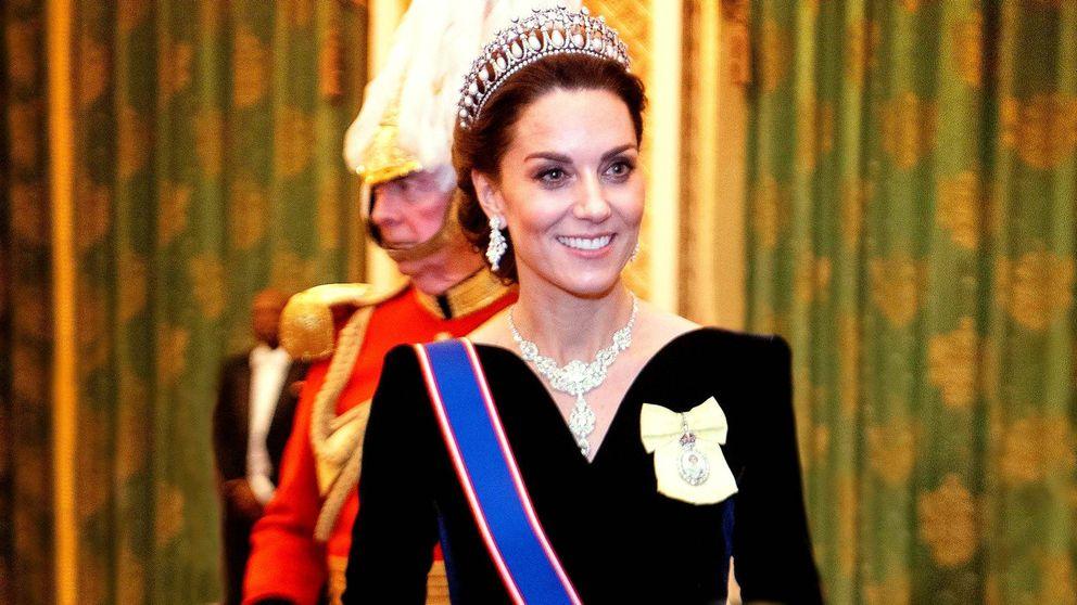 Kate Middleton, en su mejor momento: ojito derecho de Isabel II y fuera de polémica