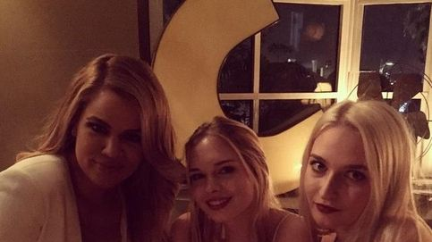 Instagram-La hija de Antonio y Melanie, de fiesta con las Kardashian