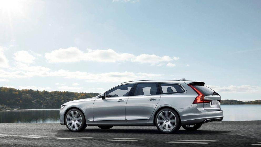 Volvo V90, un familiar muy elegante