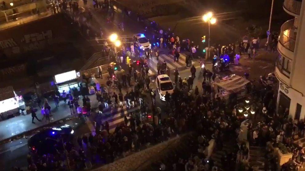 Tres detenidos por la avalancha que dejó dos heridos en las procesiones de Málaga