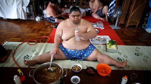 Ingerir 8.000 calorías diarias: el entrenamiento de los luchadores de sumo