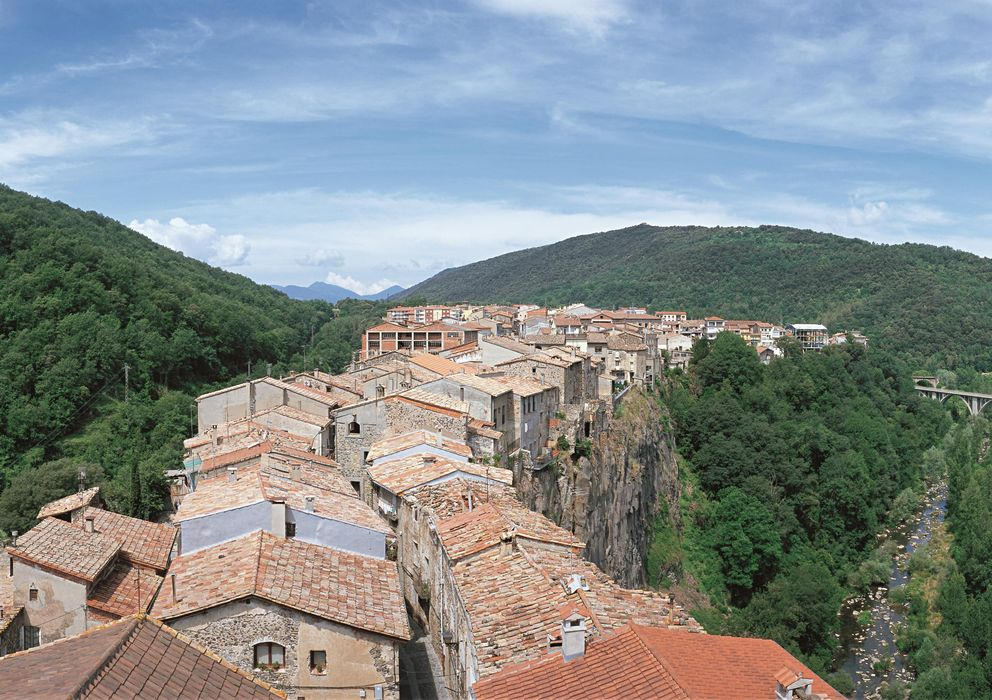 Foto: Castellfollit de la Roca. © Turisme Garrotxa