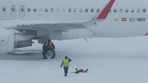 El avión del Real Madrid fue el último en despegar de Barajas antes de la suspensión de vuelos