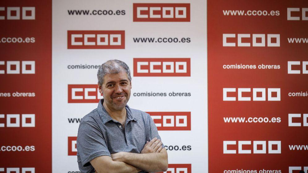 Foto: El secretario general de CCOO, Unai Sordo. (EFE)