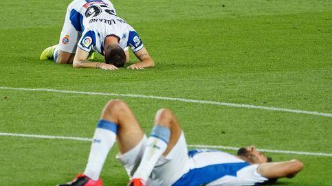 Del 'tamudazo' al fracaso del capital chino: el Espanyol baja a Segunda en el Camp Nou