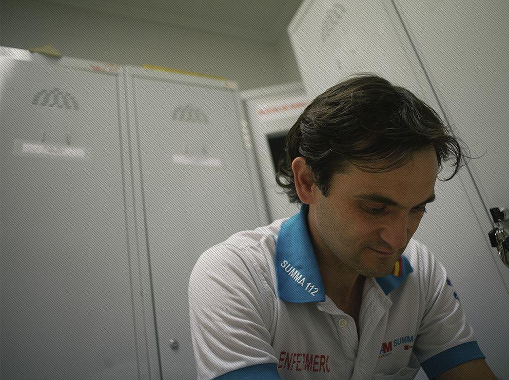 Foto: Óscar Carrillo, un enfermero que atendió víctimas en Atocha: No soy ningún héroe