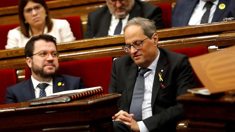 Torra pide al Parlament una respuesta a la sentencia basada en la autodeterminación